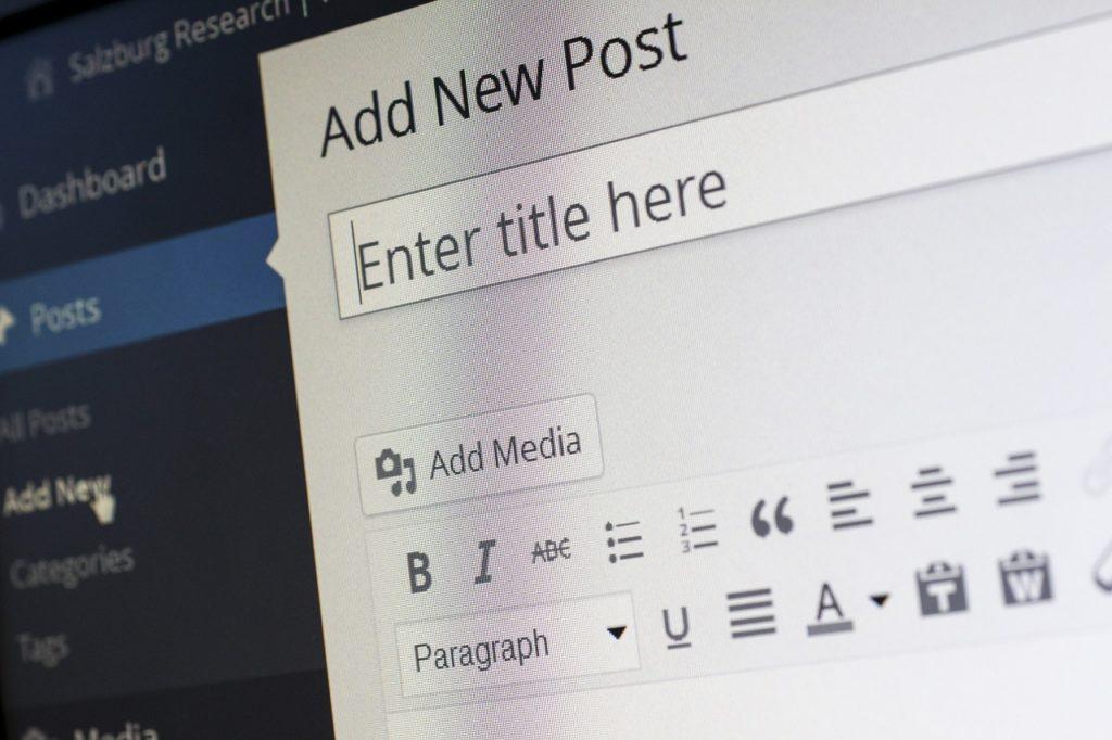 Back-end di WordPress